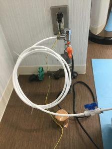給茶機から浄水サーバーへ。非常に柔らかくて丈夫な給水チューブです